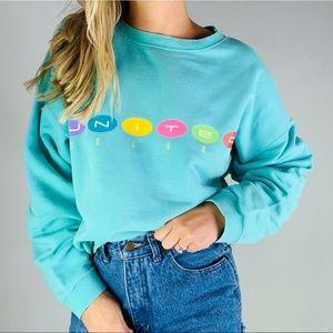 Vintage United colors Benetton crewneck sweatshirt